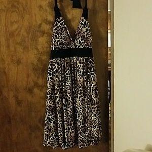 Candies leopard dress